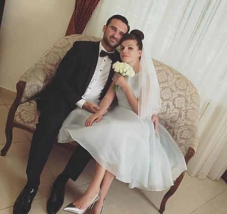 Агния Кузнецова с мужем Максимом Петровым фото