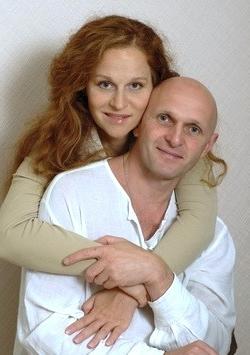 Агриппина Стеклова с мужем Владимиром Большовым фото