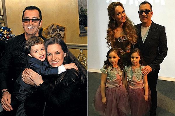 Александр Буйнов с дочерью и внуками фото