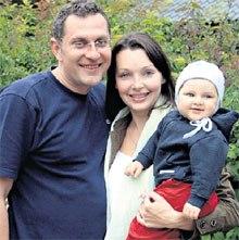 Наталия Антонова с мужем Николаем Семеновым фото