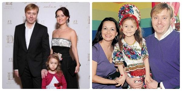 Александр Масляков младший с семьей женой и дочерью фото