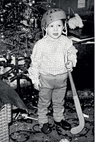 Александр Овечкин в детстве