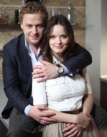 Алексей Барабаш с бывшей женой Анной Здор фото
