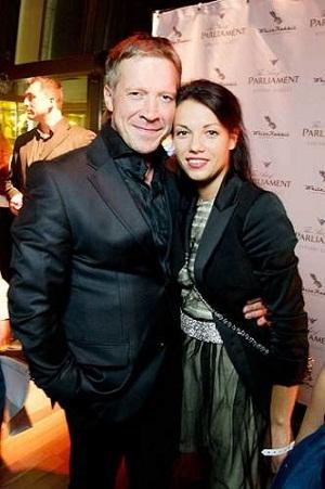 Алексей Кравченко с женой Надеждой Борисовой фото