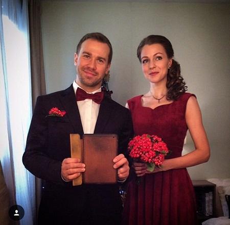 Актёр Алексей Морозов с женой Даной Абызовой фото