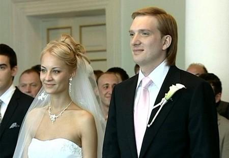 Андрей Бурковский с женой фото