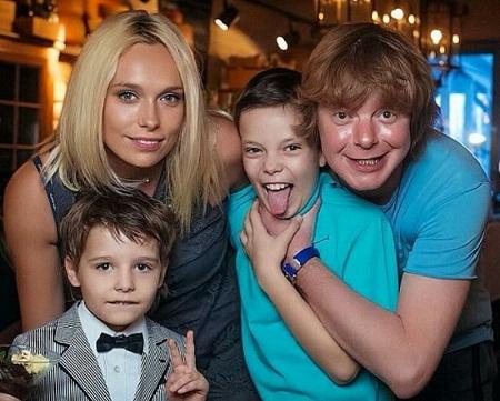 Андрей Григорьев-Аполлонов жена дети семья фото