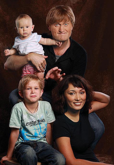 Андрей Рожков жена дети фото