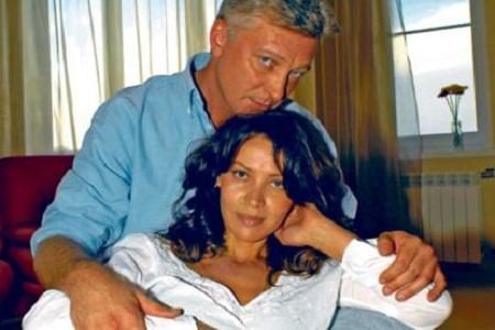 Анжелика Вольская со вторым мужем фото