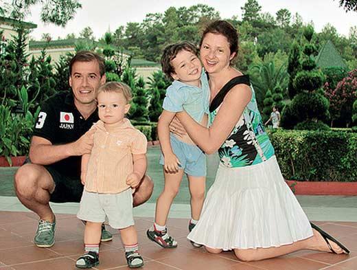 Анна Банщикова с семьей мужем и детьми фото