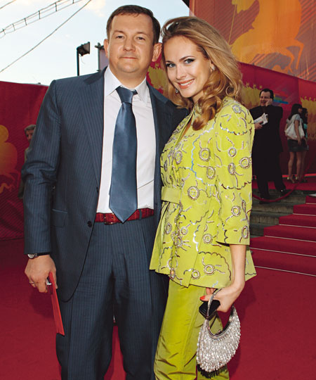 Анна Горшкова муж фото