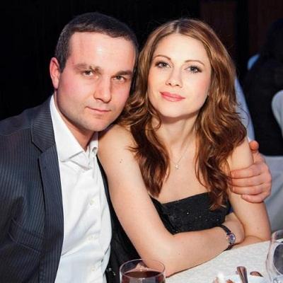 Анна Невская с мужем фото