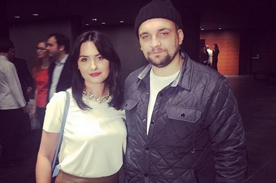Василий Вакуленко (Баста) с женой Еленой фото