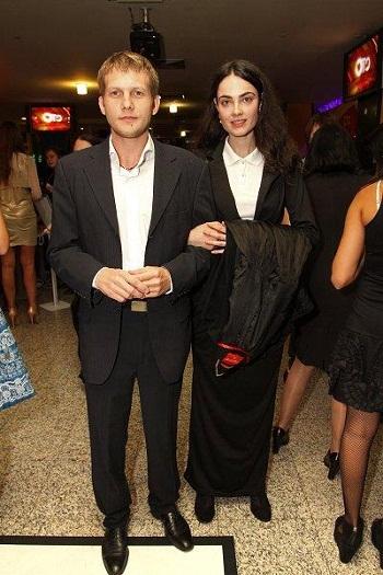 Борис Корчевников с бывшей возлюбленной Анной-Сесиль Свердловой фото