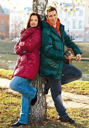 Вадим Колганов с женой фото