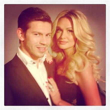 Виктория Лопырева с бывшим мужем футболистом Федором Смоловым фото