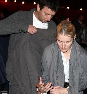 Виктория Толстоганова со своим вторым супругом Алексеем Аграновичем