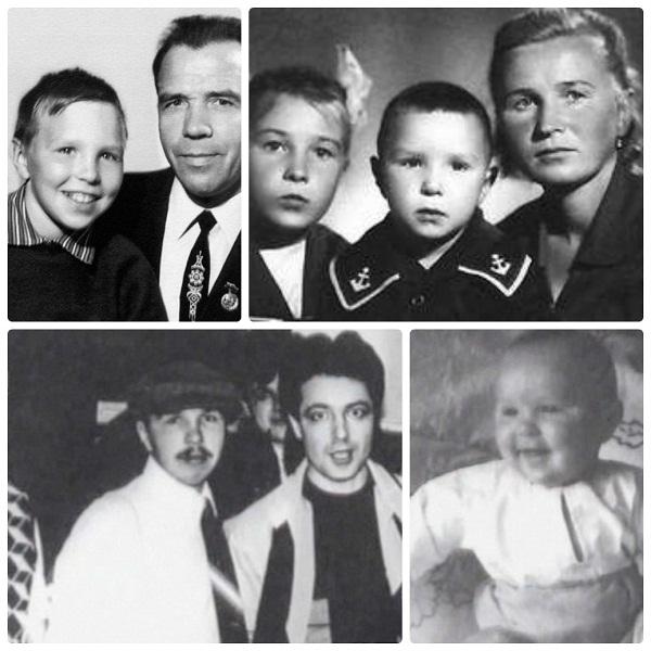 Гарик Сукачёв в детстве с родителями и в юности фото