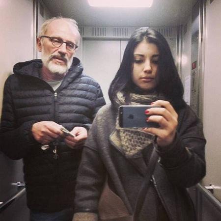 Гордон с молодой женой Нозанин Абдулвасиевой фото