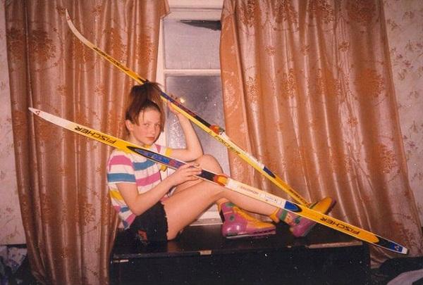 Дарья Домрачева в детстве фото