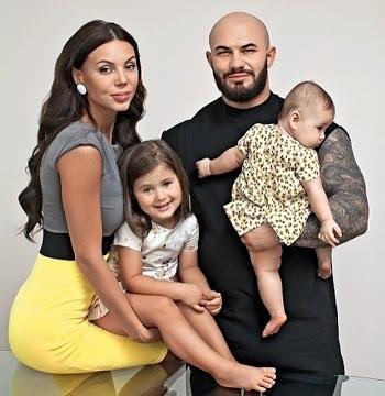 Джиган с семьей женой и детьми фото