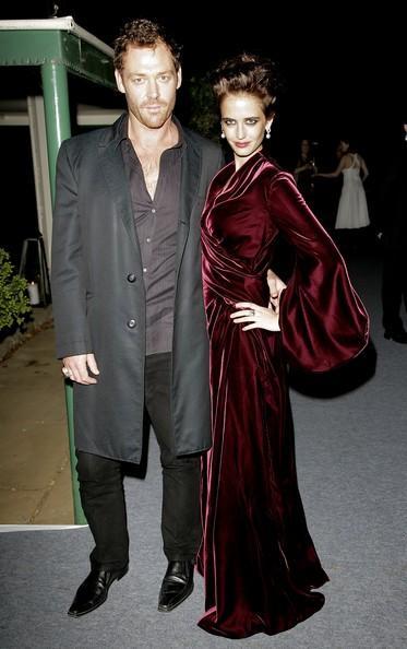Ева Грин с бывшим возлюбленным Мартоном Чокашем фото