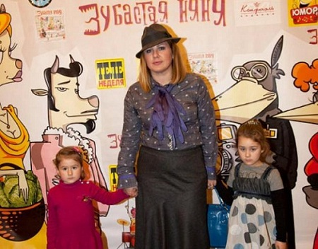 Ева Польна дети дочери фото