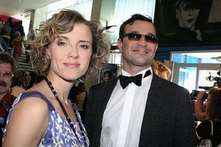 Егор Бероев с женой Ксенией Алферовой фото