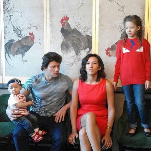 Елена Борщёва с семьей мужем и детьми фото