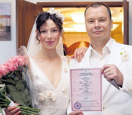 Елена Полякова с мужем Виталием Бардачевым фото