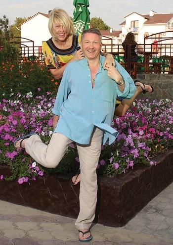 Игорь Бочкин с женой фото