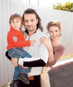 Илья Авербух с семьей бывшей женой и сыном фото