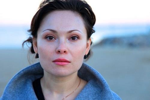жена Андрея Фролова - актриса Инна Дымская фото