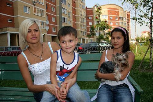 Ирина Круг с детьми фото