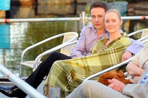 Дмитрий Исаев с женой Оксаной Рожок фото