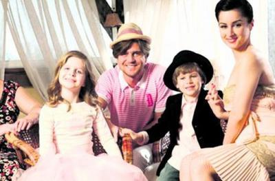 Тина Канделаки с бывшим мужем и детьми фото