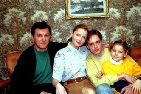 Лариса Вербицкая с семьей мужем и детьми фото