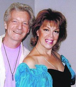 Любовь Казарновская с мужем фото