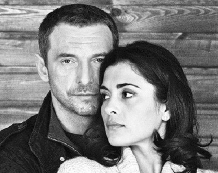 Максим Дрозд с бывшей женой Викторией Полторак фото