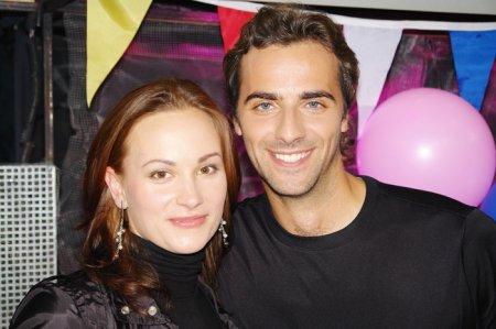 Максим Радугин с женой фото