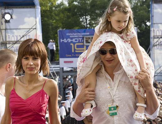 Марат Башаров и Лиза Круцко дочь фото семья