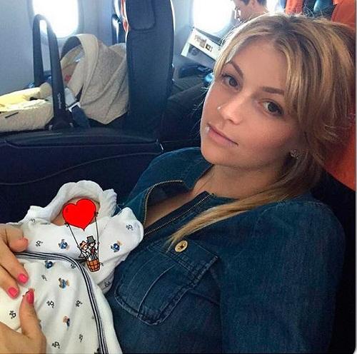 Мария Кириленко с сыном фото