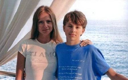 Мария Миронова с сыном Андреем фото