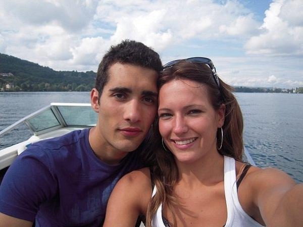 Мартен Фуркад с женой Элен фото