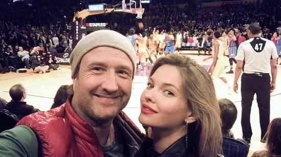 Наталья Бардо с мужем Марюсом фото