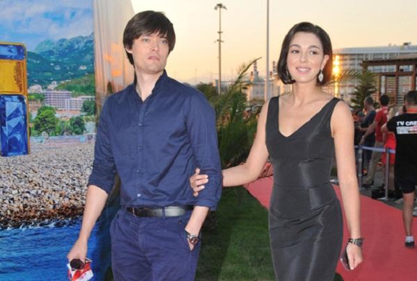 Марина Кравец с мужем Аркадием Водаховым фото