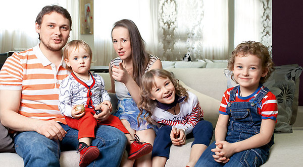 Николай Иванов жена дети фото