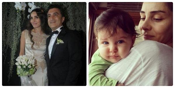 Нур Феттахоглу с семьей мужем и дочерью фото
