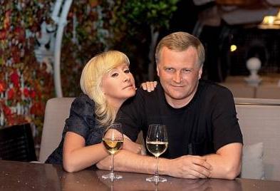 Оксана Пушкина с мужем Алексеем Широких фото