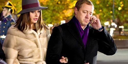 Телеведущая со своим супругом Андреем Бородиным